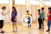 Flerspråklige verb: Kroppsøving Lær ord om idrett med video, lyd og tekst.