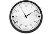 Still klokka og lytt til klokkeslettet