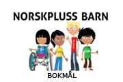 NorskPluss Barn. Lær norsk ved å se, lytte, lese og gjøre oppgaver.