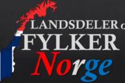 Landsdeler og fylker i Norge