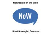 NoW - grammatikk